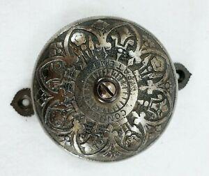 Antique c. 1874 CONNELL'S PATENT Brass Door Bell