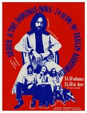 Derek & the Dominoes * POSTER * Live Concert Eric Clapton  - Fender Strat MASTER