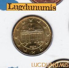 Allemagne 2005 20 centimes G Karlsruhe BU FDC provenant coffret 85000 exemplaire