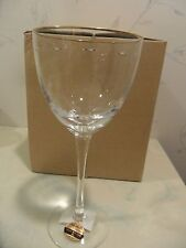 NEW Noritake PALAIS SILK GOLD Crystal Wine Glass (goblet, glasses) - MULTI AVAIL
