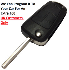2 Button Flip Remote Key Fob 434MHZ For Opel-Vauxhall Vectra / Signum 2005-2007