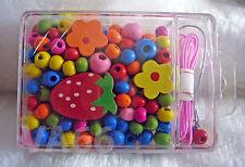 Children Bead Kit Friendship Bracelet Girl Jewellery Making Kit Kids Craft B