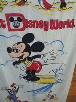 "Vintage Walt Disney World Productions Cannon Mickey Mouse Beach Towel Sz 30x38"""