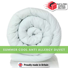 Feels Like Down Anti Allergy 4.5 / 7.5 Tog Duvet - Summer Cool Ultra Light Duvet