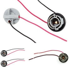 2× 1156 Turn Signal Light Brake Light Harness with Pre-wired Socket For LED Bulb