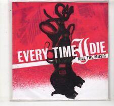 (HM61) Every Time I Die, Kill The Music - 2005 DJ CD