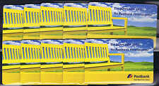10 x Postbank Portocard 2015 mit 2 x 2 cent  !!!~