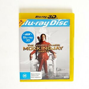 The Hunger Games Mockingjay Part 2 Movie 3D Bluray Movie - Free Postage Blu-ray