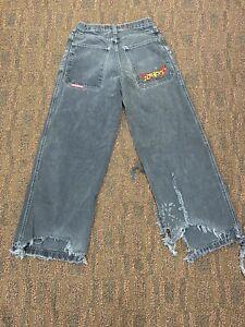 JNCO Jeans Mens 30x30 Embroidered Crown Deep Pocket Vintage 90's Punk Skateboard