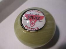 STUTZ VINTAGE PIN Wine Bottle Stopper Onyx Knob/Satin Gift