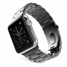 Stainless Steel Link Bracelet Watch band Strap For Apple Watch Series 4 3 2 1