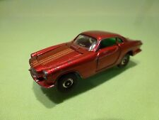 IMPY LONE STAR ROAD MASTER FLYERS VOLVO 1600S - RED 1:60? - GOOD CONDITION