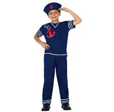 Ragazzi Ragazze Bambini Bambino Marinaio Uniforme Costume Outfit 2-3 anni