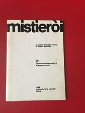 """Zanzotto Andrea """"Mistieroi"""" – Castaldi, 1979"""