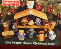 Fisher Price Little People Nativity Christmas Nativity Light Music Great 1st Set