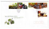 "2005 FDC. Australia. Australian Wine. Grapes PictFDI ""ADELAIDE"""