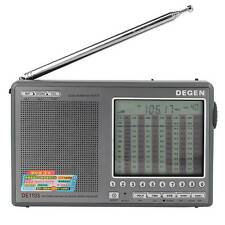 DEGEN DE1103 FM SW LW MW Digital DSP Radio Stereo SSB Receiver Alarm Clock AS