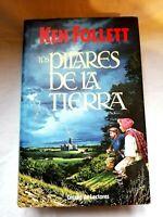Los pilares de la tierra Ken Follett Libro Circulo de lectores Usado1989