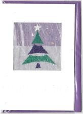 Christmas Holiday Cards 3D Handmade Christmas Tree Merry Christmas  UK Import