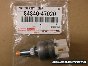 Lexus IS250 IS350 (2006-2007) OEM Genuine BRAKE PEDAL SWITCH 84340-47020