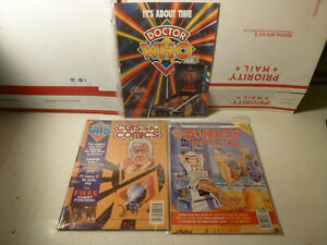 1992 Marvel Classic Comics Books Doctor Who Issue 1 & 1991 Summer Special UK
