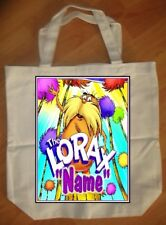 """The Lorax"" Personalized Tote Bag - NEW"