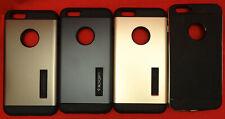Wholesale Lot Of 4 New Spigen Slim Armor Series Case for iPhone 6 Plus Gold etc