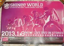 SHINee THE FIRST JAPAN ARENA TOUR WORLD 2012 Taiwan Promo Poster