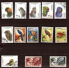 MADAGASCAR 1992  oiseaux, birds  du pays : les perroquets ,1m292t3