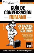 Guia de Conversacion Espanol-Rumano y Mini Diccionario de 250 Palabras by...