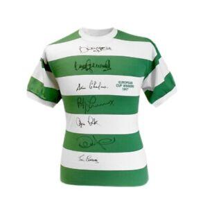 Rare Celtic Lisbon Lions Signed Shirt