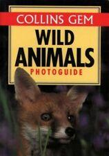 Wild Animals (Collins Gem Photoguide) by Burton, John A. Paperback Book The