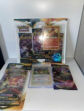POKÉMON TCG EEVEE ON THE BALL FUTSAL PROMO CARD WITH 3 BOOSTER AND BLISTER PACK
