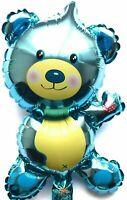Non Elio Palloncino! Palloncino Bebé Blu Decorazione Compleanno Orso Turchese