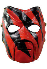 Halloween World Wrestling Entertainment WWE Kane Adult Latex Deluxe Mask Costume