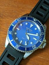 Armida A2 Dive Watch - Automatic, 42MM, Sapphire Crystal, Blue Dial & Bezel