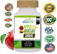 Apple Cider Vinegar Capsules - 2000 mg with The Mother Keto Diet Supplement