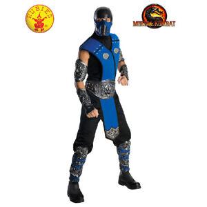 Rubie's Licensed Mortal Kombat Subzero Adult's Costume Size Std **FREE DELIVERY*