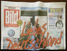 Bild Zeitung Ausgabe 09. November 2014