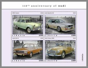 LIBERIA 2020 ** Audi Autos Cars #53-402aB