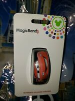 Disney Parks CARS LIGHTNING MCQUEEN BLACK Magic Band Magicband  Link Later