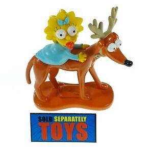 The Simpsons Family Christmas MAGGIE SANTAS HELPER dog original Playmates figure