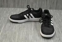 adidas Hoops 2.0 (B44699) Casual Shoe - Men's Size 10.5 - Black/White
