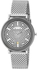 NEW Skagen SKW2446 Hald Dot Patterned Dial Stainless Steel Mesh Women's Watch