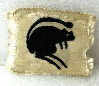 WW2 4th Armoured Brigade silk Badge patch Woven Silk 5 x 4 cm's