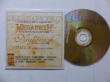 CD Sampler Hard n Heavy 68  MEGADETH  NIGHTWISH STATIC X