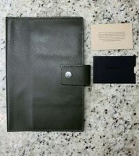 New! $195 SHINOLA Detroit Med Spruce Leather Journal Ipad Mini Cover Made In USA