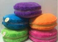 Peluche Macaron Macarons 5 colori e 4 misure Pasticceria dolci enormi giganti