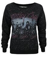 Amplified Motley Crue Girls Girls Girls Women's Speckled Sweater