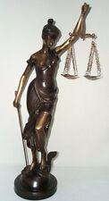 Bronze Sculpture, Bronze, XXL Figurine en Bronze Justice Déesse le Justice 85 CM